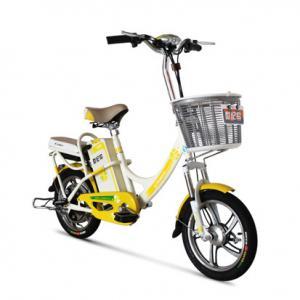 Adult / Student Lead Acid Electric Bike Jinling 36V , Steel Frame Electric Bike Manufactures