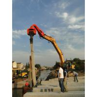 TYSIM VS400 Excavator Mounted Pile Driver / Pile Driving Hammer 2.15t Manufactures