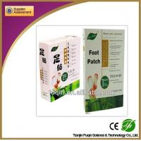 detox  foot pad with CE certificate Manufactures