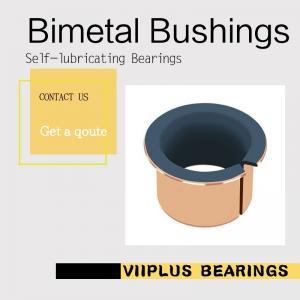 China Bi-metal Bulldozers Driven wheel & supporting Bush Standard Size plain bearings | DEVA-BM olies bearing sliding bearing on sale