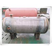 3000 Liter Stainless Steel Air Receiver Tank , Pneumatic Compressed Air Reservoir Tank Manufactures