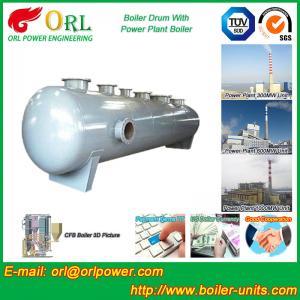 Stainless Steel Boiler Mud Drum , Boiler Steam Drum SGS High Efficiency Manufactures