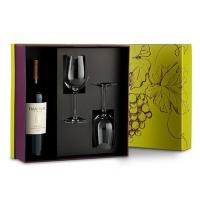 Quality Handmade Flat Pack Wine Packaging Box Cardboard Customized Shape for sale