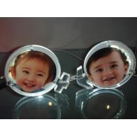 Customized Picture Frame Clear Acrylic Brochure Holders With LED Light Manufactures