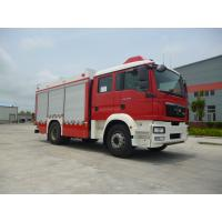 Quality Front Overhang 1500mm Industrial Fire Truck , 4x2 Drive Type Fire Rescue for sale