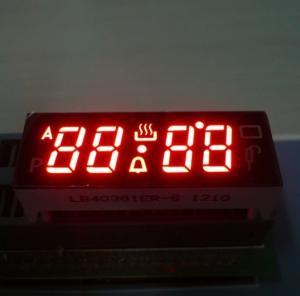 Digital Red 4 Digit Seven Segment Led Display Common Anode For Fuel Gauge Manufactures