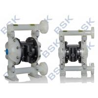 Plastic Air Driven Diaphragm Pump 1 Inch Corrosion Resistant Manufactures