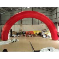 Custom 9m X 4.5m Inflatable Arches with Advertising for Family / School Manufactures