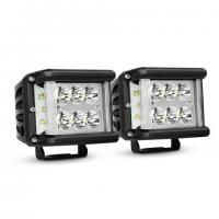 Work Light CREE LED Off Road Driving Light 2 X 45W Side Shot Pod Cubes For Vehicle Manufactures