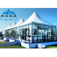 Luxury Pagoda Canopy Tent Choosable Tent Shape For Wedding Ceremony And Catering Events Manufactures