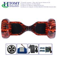 China Auto Red Flame Self Balancing Electric Scooter Drifting Board Waterproof on sale