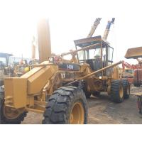 140H Used Motor Grader Secondhand Road Machinery Caterpillar With Ripper Manufactures