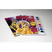 Hardback Perfect Bound Coloring Book Printing Services With Water-Colour Brush Manufactures