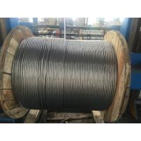 China Water Resistance Galvanized Stranded Steel Wire , 3/8 Steel Cable 7 X 3.05mm on sale