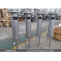 China Heating Jacket Single Bag Filter Housing for various acid and alkali liquids on sale