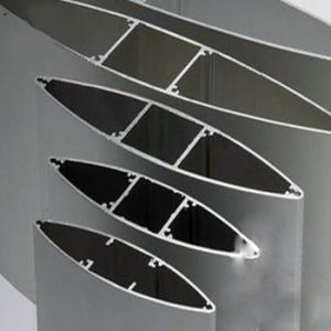 Anodize  Aluminium Extrusion Profiles Fans , Extrusion Aluminum Airfoil Blade Manufactures