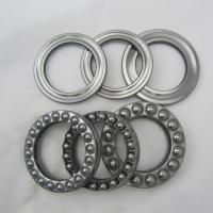 51102 Low Vibration axial ball bearing for MAZ , KrAZ , KamAZ , Ural , ZIL , GAZ , BelAZ Manufactures