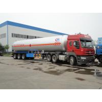 2017S hot sale 3 axles 58cbm propane LPG tank semitrailers, 58,000L BPW/FUWA axles cooling gas tank trailer for sale Manufactures