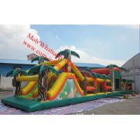 24x4x3 Adults Energy Challenge Inflatable Obstacle Course for Sale Manufactures