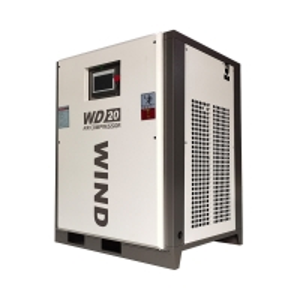 0.9~2.3bar Wind Cooling 240KG 7.5 Kw Screw Compressor Manufactures