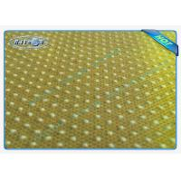 Good Strength Anti Slip PP Spunbonded Non Woven Fabric with PVC Dots Manufactures