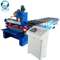 30m/Min Steel Sheet Corrugated Roll Forming Machine With Mitsubishi PLC Manufactures