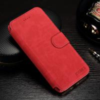 Matting PU Cell Phone Leather Wallet Case For Iphone 6 / 7 With Credit Card Slot Manufactures