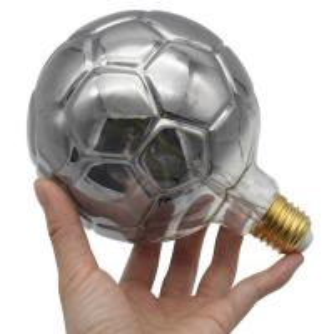 China Energy Efficient Edison Filament Bulbs Football Shape 6000k E27 4 Watt Led Filament Bulb on sale