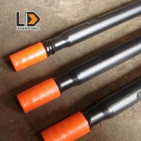 T38 T45 T5 Water Hardening Drill Rod 610mm - 6095mm For Hard Rock Drilling Manufactures