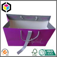 Luxury High Quality Paper Bag; Custom CMYK Full Color Print Gift Bag; Paper Bag Manufactures
