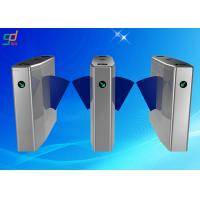 304 Stainless Steel Swing Gate Turnstile Controlled Access Turnstiles Manufactures