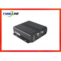 4G 4CH AHD Vehicle Mobile DVR Supports Two Way Video Talkback With Micro SD Card Manufactures