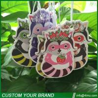 Thailand hot sell customized design hanging paper air freshener Manufactures