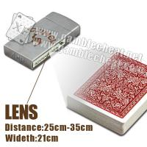 China XF brand of Zippo Lighter Lens for poker analyzer/poker cheat/poker analyzer/marked cards on sale