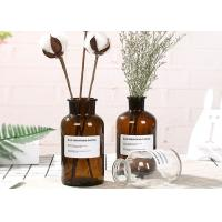 Machine Made Glass Brown Bottle Decorative Glass Vases For Flower / Ins Popular Manufactures