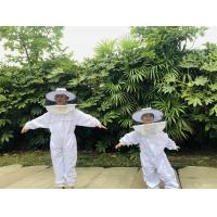 Terylene Honey Bee Protection Suit Kids Beekeeping Protective Clothing With Round Veil Manufactures
