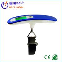 Hot selling luggage scale, blue backlight digital Luggage scale with belt Manufactures