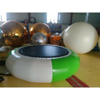 Inflatable Trampoline 2.5m Customized Inflatable Water Toys Water Park Games Manufactures
