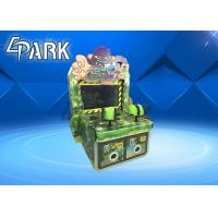 The Monster Comes Gun Shooting Push Coin Game Machine / Video Game Vending Machine Manufactures