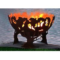 Fashionable Design Corten Steel Fire Pit Bowl Superior Corrosion Resistance Manufactures
