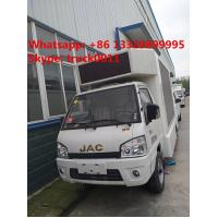 Quality Hot sale Euro 5 gasoline 61hp JAC  mini mobile LED digital advertising truck, Factory sale best price JAC LED truck for sale