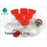 Buy cheap Bodybuilding CAS 218949-48-5 Tesamorelin Injectable Peptide Tesamorelin 2mg from wholesalers