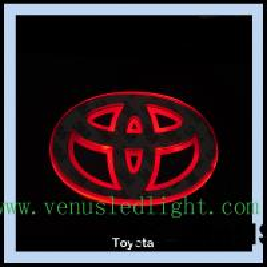 car logo light Car Badge LED Light Truck Emblem Tail for ford toyota Manufactures