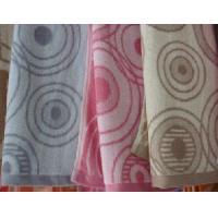Buy cheap 100% cotton jacquard terry hand towel from wholesalers