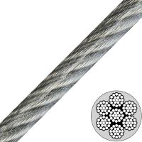3/16 (7x19) Galvanized Vinyl Coated Aircraft Cable to 1/4 Break Strength 4200lb Manufactures