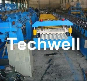 Corrugated Sinusoidal Sheet Roll Forming Machine, Corrugated Sheet Making Machine