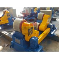 Self Aligning Welding Rotator 20T Self Centering Roller Beds Pipe Turning Rolls Manufactures