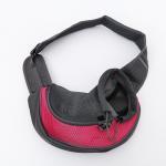 Single Shoulder Pet Carrier Bag Elastic Buckle Inside For Outdoor Travel 0.4 Kg Manufactures
