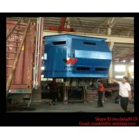 Metal Burnishing and Cleaning H Beam Shot Blast Machine Through Type High Output Manufactures