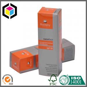 Matte Color Printing Paper Carton Box; Cosmetic Skin Care Paper Packaging Box Manufactures
